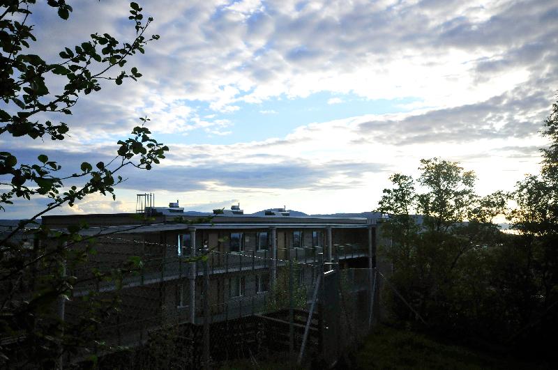 Bergheim Amfi - bygget
