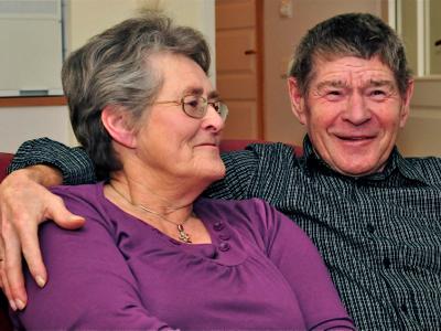«Vi har alltid trivdes på Bergheim», sier Inger og Ole Antonsen